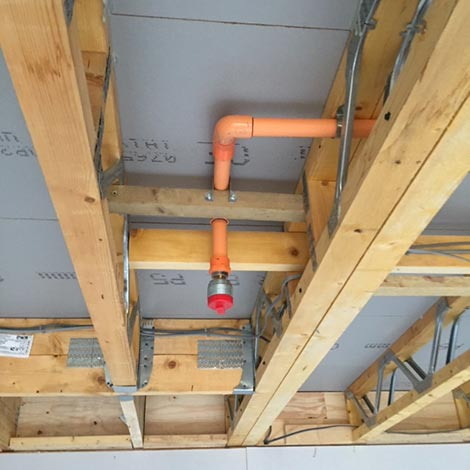 Fire Sprinkler Systemn in Berkshire